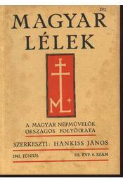Magyar Lélek 1941. június - Régikönyvek