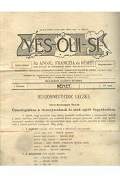 Yes-oui-si 24. - Régikönyvek