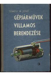Gépjárművek villamos berendezése - Régikönyvek