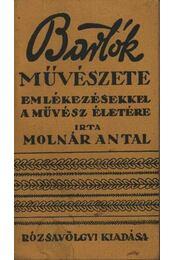 Bartók művészete - Régikönyvek