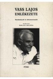 Vass Lajos emlékezete - Régikönyvek