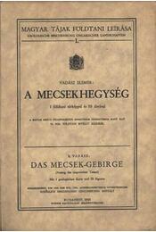 A Mecsek hegység - Régikönyvek