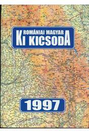 Romániai magyar Ki kicsoda 1997 - Régikönyvek