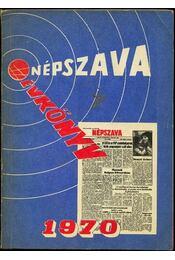 Népszava évkönyv 1970 - Régikönyvek