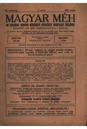 Magyar Méh 1942/6. - Régikönyvek