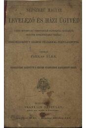 Népszerű magyar levelező és házi ügyvéd - Régikönyvek