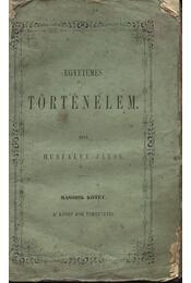 Egyetemes történelem II. - Régikönyvek