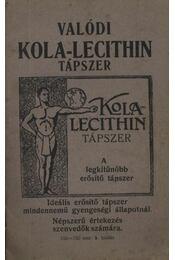 Valódi kola-lecithin tápszer - Régikönyvek