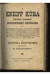 Kneipp vízkúrája - Régikönyvek