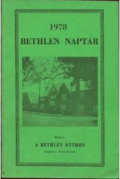 Bethlen naptár 1978 - Régikönyvek
