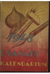 Csanádi kalendárium - 1948 - Régikönyvek