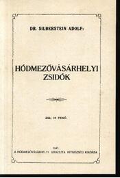 Hódmezővásárhelyi zsidók, Zsidók Hódmezővásárhelyen - Régikönyvek