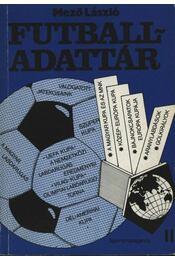 Futball-adattár II. rész - Régikönyvek