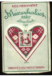 Mézeskalács-szív - Régikönyvek