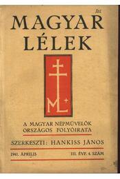 Magyar Lélek 1941. április - Régikönyvek