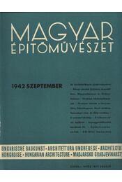 Magyar Építőművészet 1942. szeptember - Régikönyvek