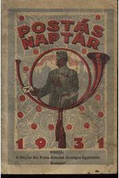 Postás Naptár 1931. - Régikönyvek