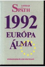 1992 Európa álma - Régikönyvek