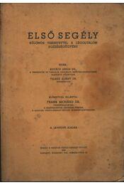 Elsősegély - Régikönyvek