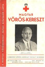 Magyar Vöröskereszt XXI. évfolyam, 1. szám - Régikönyvek