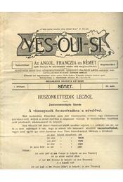 Yes-oui-si 22. - Régikönyvek