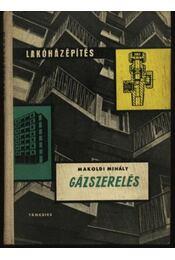 Gázszerelés - Régikönyvek