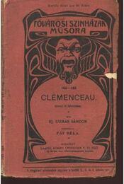 Clémenceau - Régikönyvek