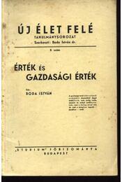 Érték és gazdasági érték - Régikönyvek