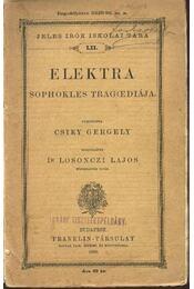 Elektra - Sophokles tragédiája - Régikönyvek