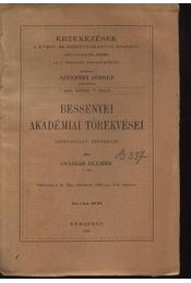 Bessenyei akadémiai törekvései - Régikönyvek