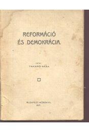 Reformáció és demokrácia - Régikönyvek