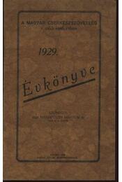 A Magyar Cserkészszövetség V. (déli) kerületének 1929. évkönyve - Régikönyvek
