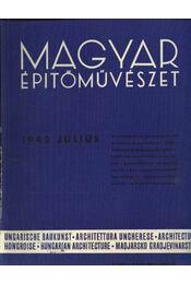 Magyar Építőművészet 1942. július - Régikönyvek