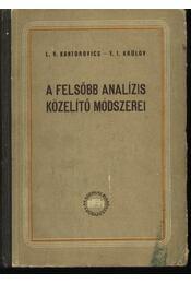 A felsőbb analízis közelítő módszerei - Régikönyvek