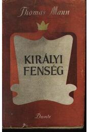 Királyi fenség - Régikönyvek