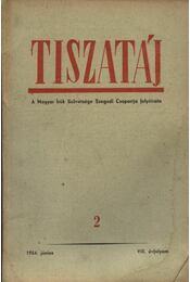 Tiszatáj 1954. június VIII. évfolyam 2. - Régikönyvek
