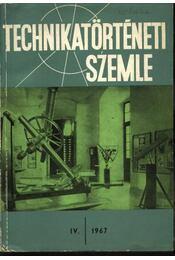 Technikatörténeti szemle - Régikönyvek