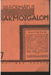 Református Diákmozgalom 1931. március - Régikönyvek