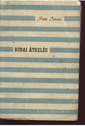 Budai átkelés (dedikált) - Régikönyvek