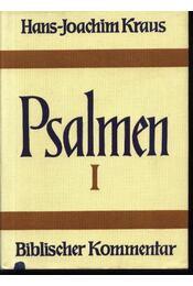 Psalmen I-II. - Kraus,Hans-Joachim - Régikönyvek