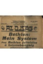 Az ojság 1930. július 6. - XI. évf. 27. szám - Régikönyvek