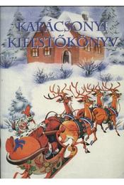 Karácsonyi kifestőkönyv - Régikönyvek
