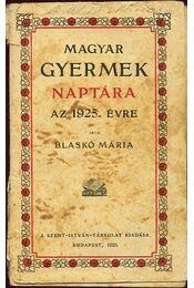 Magyar gyermek naptára 1925 - Régikönyvek