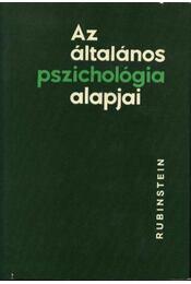 Az általános pszichológia alapjai I-II. - Régikönyvek