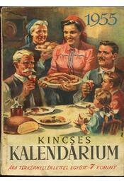 Kincses kalendárium 1955 - Régikönyvek