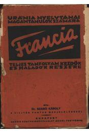Francia nyelvtan kezdők és haladók részére - Régikönyvek