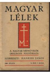 Magyar Lélek 1943. július - Régikönyvek