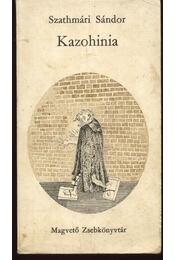 Kazohinia - Régikönyvek