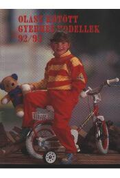 Olasz kötött gyermekmodellek 92/93. - Régikönyvek