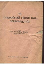 A nagyváradi római kat. székesegyház - Régikönyvek